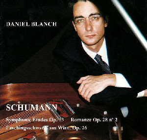 Robert Schumann: Estudios Simfónicos Op.13, Romanza Op.23 nº2, Carnaval de Viena Op.26